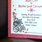 DIY Invitations with Abby Grace Photo