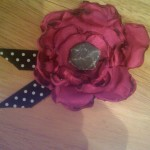 DIY How To: Silk Flower Hair Clip, Pin, or Corsage