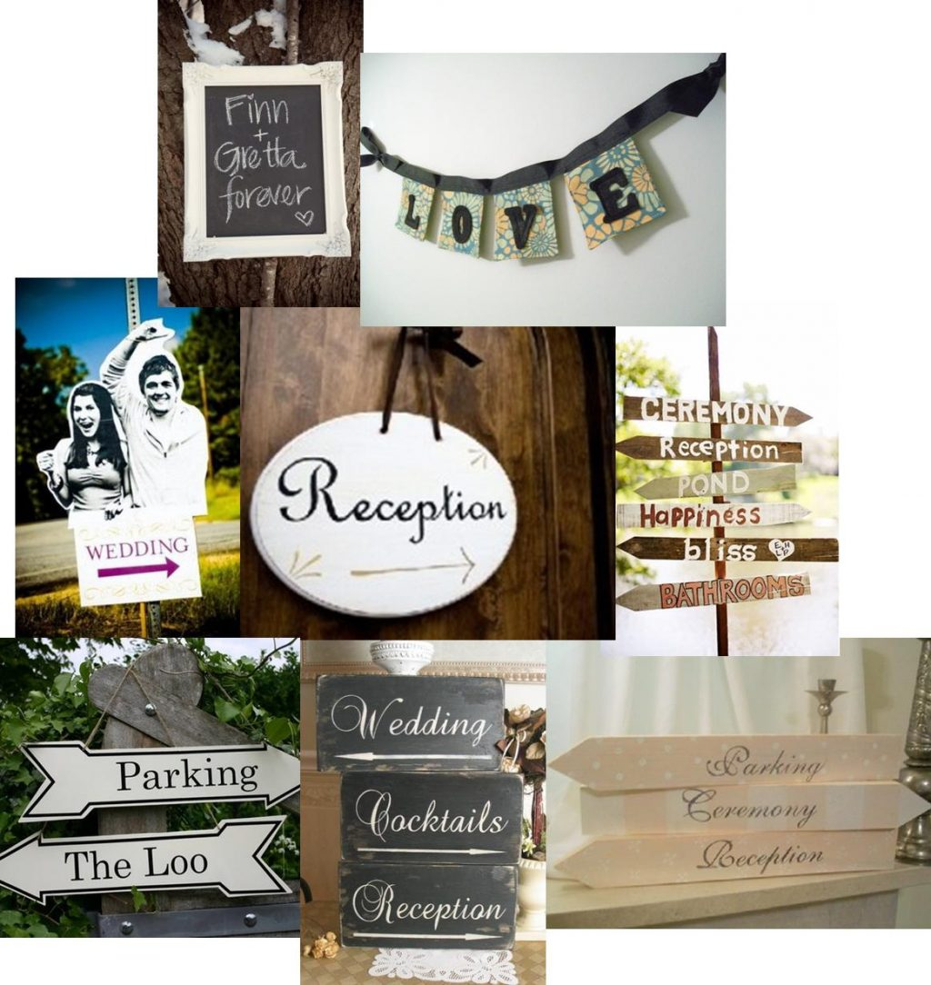 "Tales Of A DIY DC Duo: Chapter 8 ""DIY Wedding Signs"