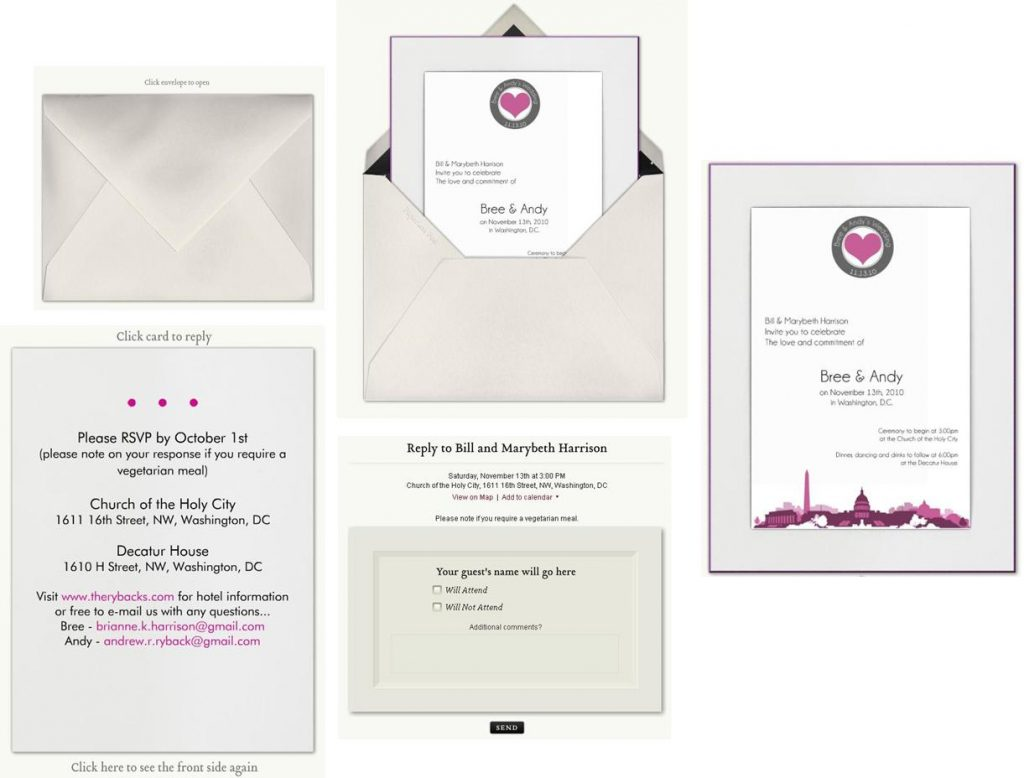 Paperless Wedding Invitations for your inspiration to make invitation template look beautiful