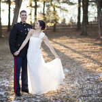 Capitol Romance: Megan & Mike's Northern Virginia Winter Wedding at Wolftrap Barns