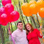 Capitol Romance: Ginny & Jeff's Baseball Themed Engagement Session with Balloons!