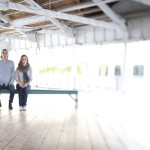 Erin & Karl's Hipster Glen Echo Park MD Engagement Pictures