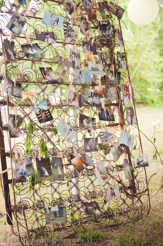 Capitol Inspiration: DIY Hanging Pictures Wedding Decor | Capitol