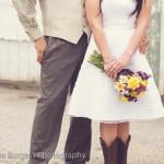 Melissa & Matt's Rustic Honey Bee Themed Virginia Wedding