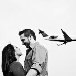 Capitol Romance: Oleria & Scott's Reagan Airport Engagement Pictures in Virginia