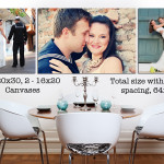DIY Wedding Pictures Decor with Photography Du Jour