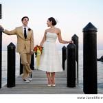Sabrina & Mike's DIY, Chesapeake Maryland Wedding with a MD Crab Theme