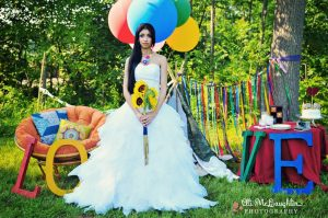 vintage circus carnival theme wedding stylde shoot (10)