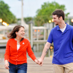 Maria & Alessandro's Laid Back, Annapolis Maryland Engagement Session