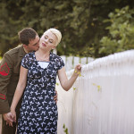 Lauren & Chris' Vintage Military Love Shoot in Virginia