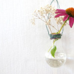 DIY Project: Incandescent Light Bulb Vases & Hanging Flower Holders