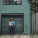 Genevieve & Andy's Washington DC Hipster Engagement in Logan Circle