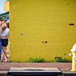 Matt & Cat's Beautiful Alexandria, Virginia Engagement Session