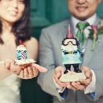 Josh & Christen's Offbeat, DIY Travel Themed Wedding in Maryland