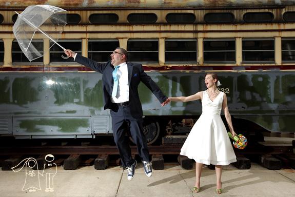 Paul Amp Angies Offbeat Glen Echo Park Maryland Wedding Part 1
