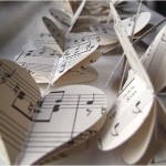 DIY Inspiration: Sheet Music Wedding Decorations & Decor