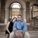 Christine & Eddie's National Portrait Gallery DC Engagement Session