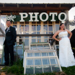 Abbie & James's Day After Wedding Portrait Session at Lucketts Vintage Store