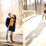 Katie & John's Laid Back, Great Falls Virginia Engagement Pictures