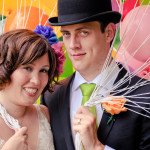 Natalie & Stewart's Whimsical, Colorful DIY Virginia Wedding