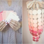 DIY Inspiration: Paint Chips & Paint Swatch Wedding Decorations & Decor