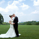 Rachael & Grayson's Virginia Wedding at the Fort Meyer's Office Club