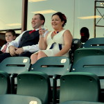 Jenn & Greg's Offbeat Baseball Stadium Wedding in Maryland