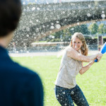 Steve & Amanda's Offbeat, Water Balloon Engagement Pictures ~ Part 2