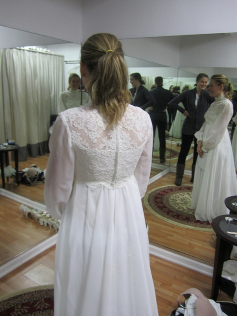 Wedding Dress Alterations Chicago Suburbs : Wedding dress re imagined bride s from her mom