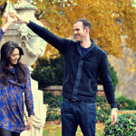 Stephanie & Joe Dumbarton Oaks, Washington DC Engagement Pictures