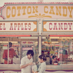 Nano & Thibaud's Vintage Amusement Park Engagement Session in Richmond, VA