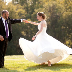 Erin & Steve's Intimate, Romantic Virginia Wedding