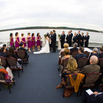 Melinda & Brian's Offbeat Dinner Boat Wedding in Washington, DC