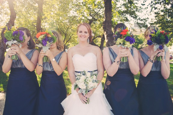 how much do i LOVE Casey 39s blue sash and the bridesmaids 39 twotoned