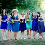 Lindsey & Adam's Offbeat Blue & Yellow Wedding in Chevy Chase, Maryland