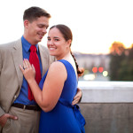 Jess & Ethan's Reston Town Center Engagement in VA