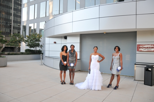 DC VA MD Weddings Blog Modern Hip Blue Grey DC Wedding Capitol