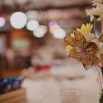 Capitol Inspiration: Paper Flower Wedding Decorations & Centerpieces from Whimsical, Real PA Wedding