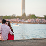 Taryn & Liam's Cherry Blossom Engagement Pictures!