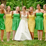 Taylor & Stuart's Yellow & Green DIY Frederick Maryland Wedding ~ Part 2
