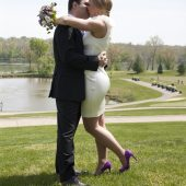 modern purple wedding details shoes leesburg virginia weddings blog (1)