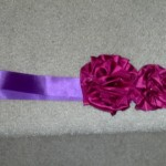 My DIY Fabric Flower Sash Tutorial