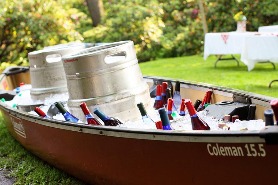Capitol Inspiration Backyard Wedding DIY Details from a PA