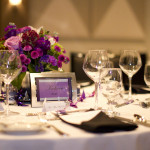 Dorothy & Brandon's Modern Purple Rockville, MD Wedding