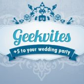 geekvites online feeky offbeat budget-friendly wedding invites save the dates