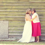 Natalie & Melissa's Hot Pink Wedding Brunch at the Eastern Shore
