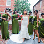 Alonzo & Natasha's Modern, Whimsical Forest Wedding in Alexandria, VA