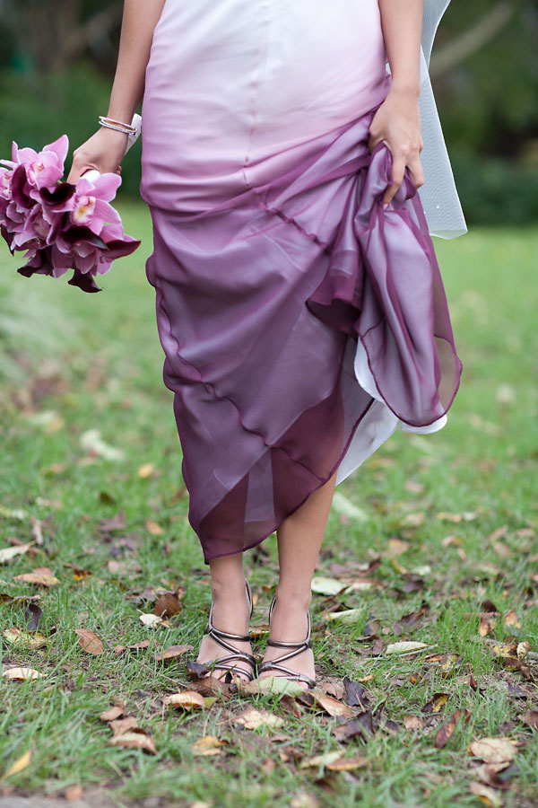 Victoria curtis 39 offbeat rock roll northern virginia for Purple ombre wedding dress