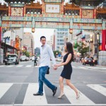 Greg & Marisa's Chinatown & Manassas Battlefield Engagement Session